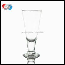 Wholesale Juice Glass, Tall Juice Cup Glass short stem champagne flutesChampagne Flute V Shape
