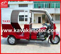 150CC/200CC new type three wheel passenger bajaj tricycle/ motorcycle with steering wheel for 4-6pensons