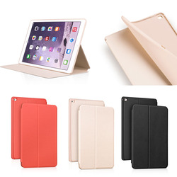 HOCO Fancy Candy Color TPU inside + Leather Case for apple ipad pro, for iPad Pro case cover with wake up/sleeping function