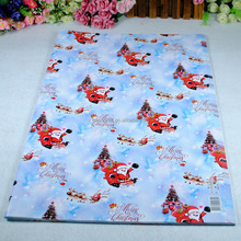 80gsm high quality best price christmas wrapping gift paper in packaging paper