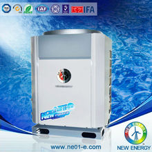 EVI technology intelligent system air source heat pump in low temperature