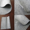 Eco rayon carbon fiber felt cars upholstery accessories fabric