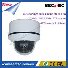 Full HD 1080P 4X/10X/12X AHD CCTV Camera Terminates analog cameras Waterproof Outdoor IR Security Camera IP Dome Camera