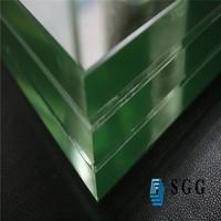 High quality super white laminated glass window,decorative fabric laminated glass