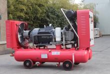 55kw mining portable screw compressor