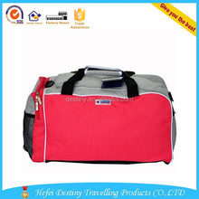 600D polyester expandable waterproof duffel travel bag