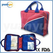 First Aid Kit for Car, Travel, Home, Office, Camping or Sports. Durable bag, packed with high quality medical supplies