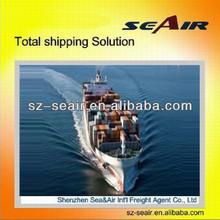 bulk charter ocean freight from Shenzhen or Guangzhou to Europe