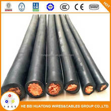 Orange welding cable with high performance from Chinese direct factory
