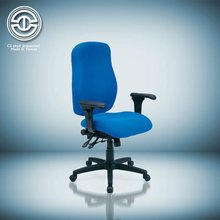 Adjustable armrest height adjustable chair