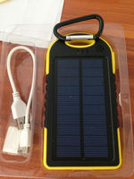 Hot product Ecosol solar power bank mobile phone charger with durability and portability