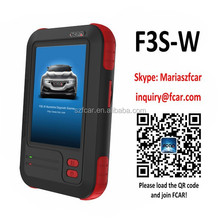 Fcar F3S-W auto Diagnostic Tool, passenger and light commercial car, ecu reset, srs, epb, eps, abs exhaust, key program