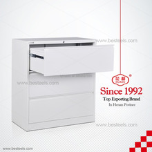 wholesale china office furniture cheap price modern wooden movable 3 drawer file cabint, office filing cabinet