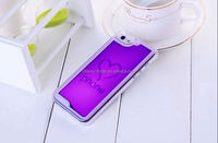 2015 new design water floating phone case for for iPhone 4 4S transparent shinning Phone protective case