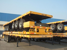 china supplier 12 tires 3-axle container transpotation trailer