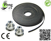 Hot selling!3D printer GT2 synchronous belt conveyor belt 1 meters width 6mm can be equipped with the GT2 wheel