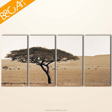 Single tree group painting modern landscape canvas print home decoration oil painting