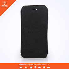 For iphone cell phone leather case,two mobile phones leather case,genuine leather flip cover