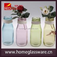 Venda quente 300 ml difusor garrafas de vidro com decore cordas