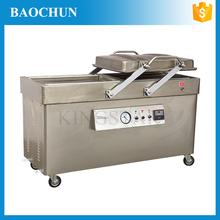 DZ600/2SB snack foods frozen chicken full automatic vacuum packaging machine