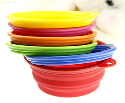Factory Sale collapsible Silicone dog bowl/ Pet Bowl/ Pet Dishes,China Manufacturer