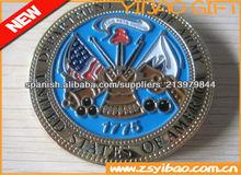 moneda de esmalte suave personalizado