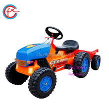 style truck and trailer car toy for kids to drive 411