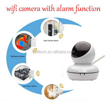 FDL-WF8 Digital IR Home Alarm Security IP Camera Equipment with Door/Gas/Smoke PIR Sesnor