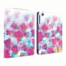New Fashion Design Painted Leather Filp Stand Case For ipad