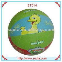 Design cartoon rubber basketball ball ST514