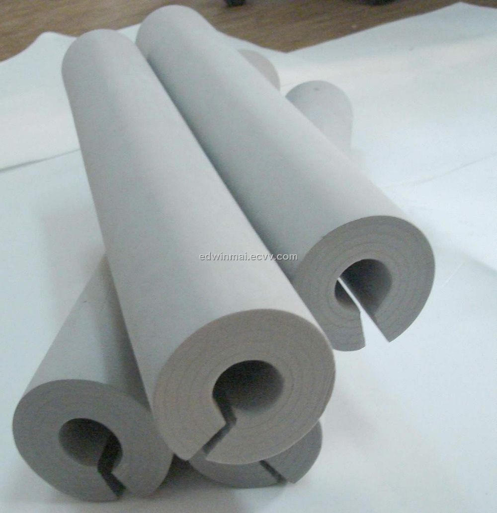 Plastic thermal insulation foam pipe waterproof soft pe for Mold resistant insulation