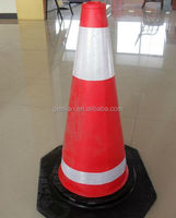 High Quality Colored EVA Flat Traffic Cones Road Construction Safety Equipment