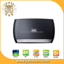 New product B12 quad core Amlogic S812 android4.4 support XBMC 4K android set top box
