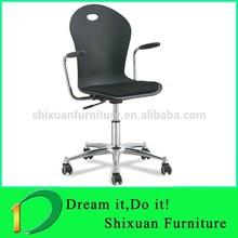 specific arm swivel acrylic chair