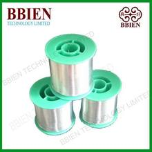 Little impurity rosin core tin antimony alloy no clean type solder wire Sn95Sb5