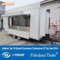 BAOJU FV-60 New model traveling van high quality food van refrigerated food van