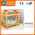 niños cama de dos pisos, litera, arriba-abajo cama para niños con escaleras (BP-K140112)