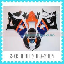 ABS motorcycle Fairing for SUZUKI GSXR1000 K3 2003 2004