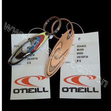 Custom Metal Name Keychain with Paper Card