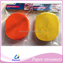 Festival decoration throwing paper streamer with cheap price