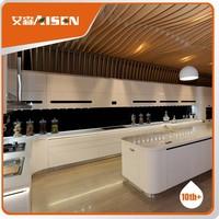 High technology kitchen cupboard round shape design modern kitchen cabinet high end quality for kitchen furniture suitable