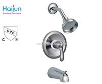 Modern thermostatic rainfall shower set faucet water saving pressure balance shower head
