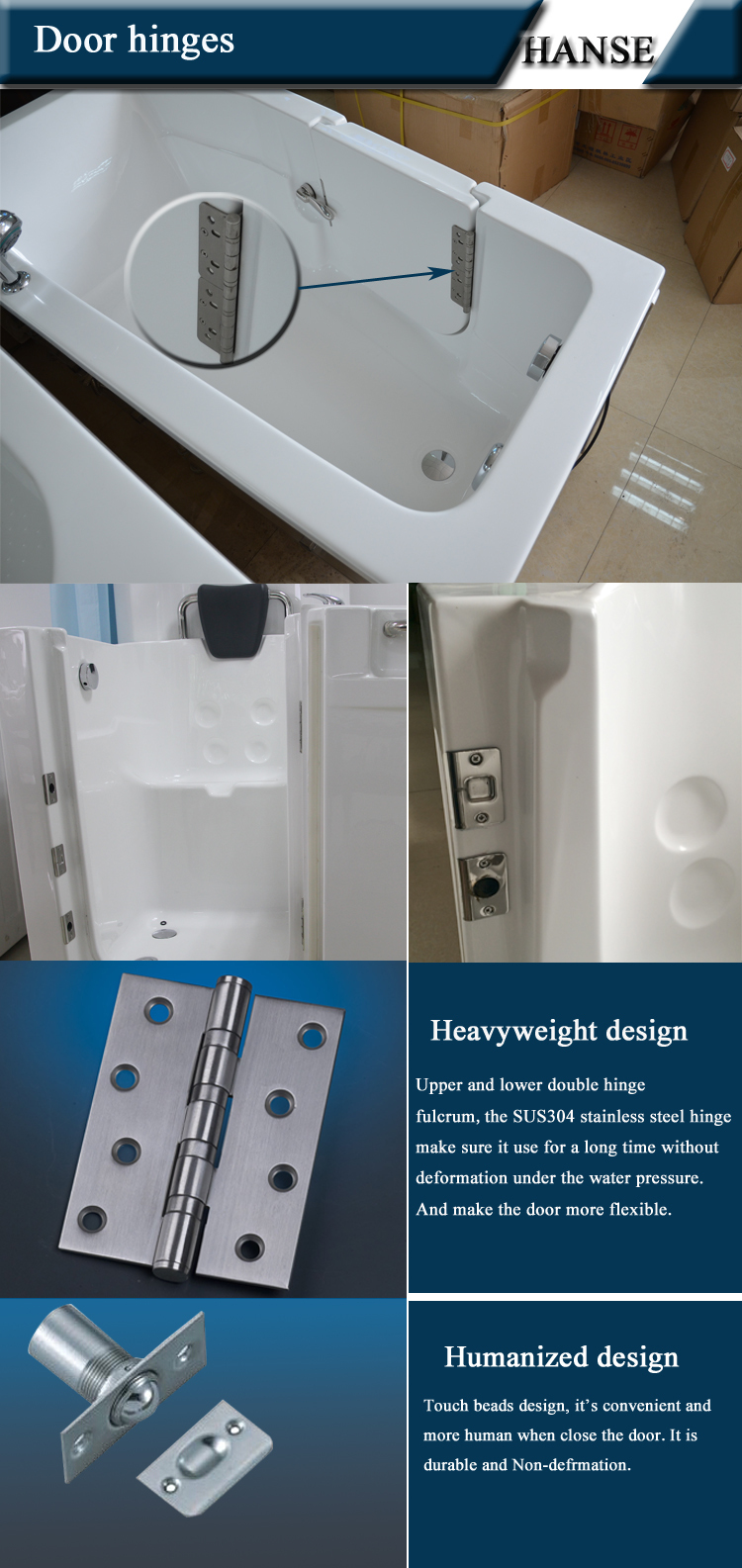 Portable Showers For Disabled People : Hs b bathtub for old people and disabled