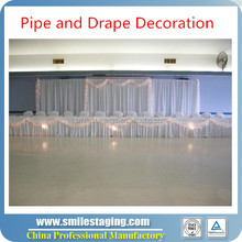 7-12 Feet adjustable Pipe & Drape on sale ,Pipe & Drape To Fashion Shows & Theaters To Use As Dressing Rooms