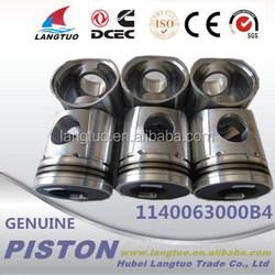 Auto engine 4bt 4H 6CT engine parts 5255936 v2203 piston for sale