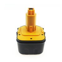 Melasta High Capacity 2000mAh 12V Ni-MH Rechargeable Cordless Replacement Battery for Dewalt DW9071 DW9072 DC9071 DE9037