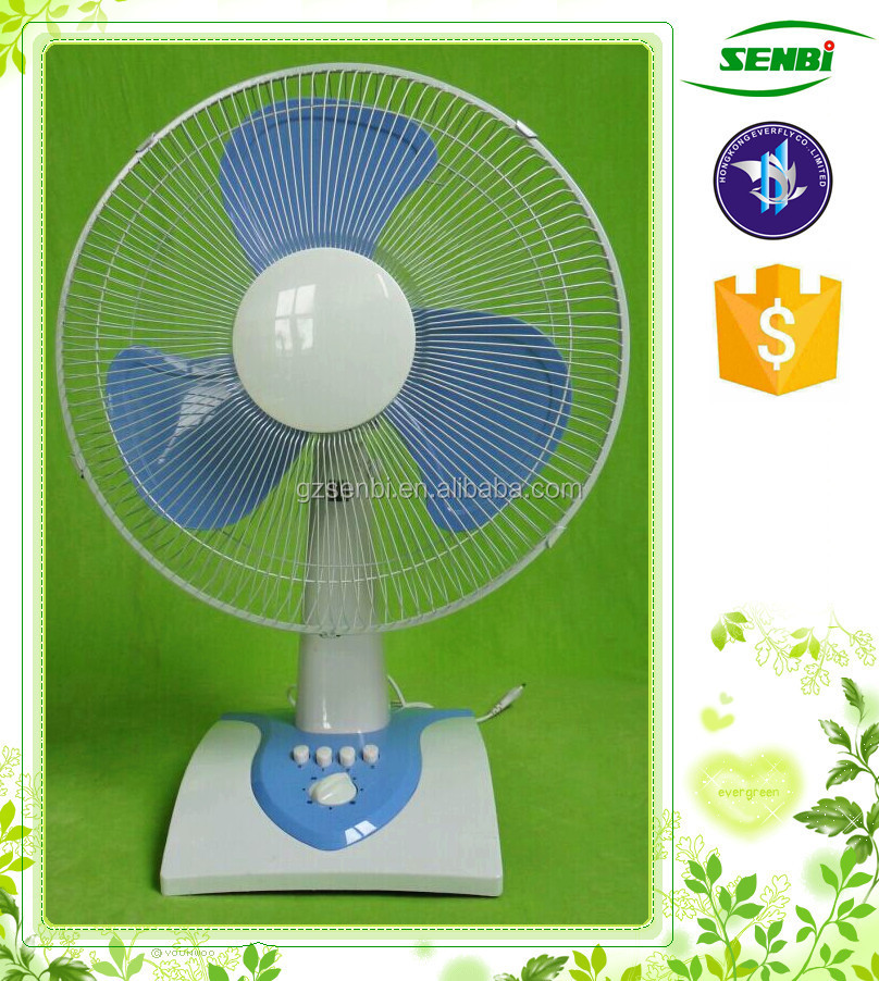 With timer 16 inch pp blade 12v dc electric table fan for 12v dc table fan price
