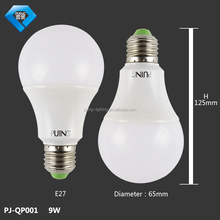 cool white energy saving e27 7w led lighting bulb