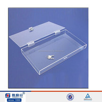 Hotsale!! clear acrylic boxes wholesale, acrylic storage container flat top ,,acrylic storage box