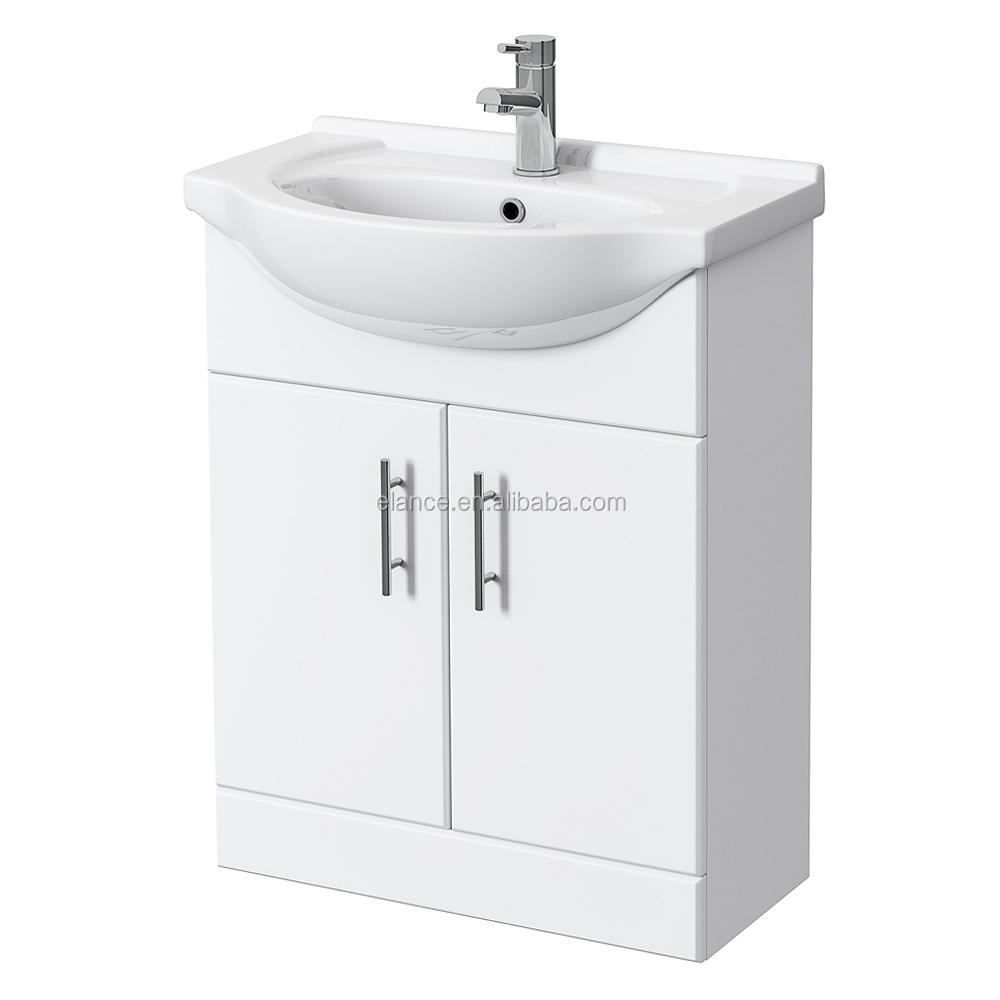 Haute brillant Vinyle Wrap armoires vanité, armoire de toilette et ...